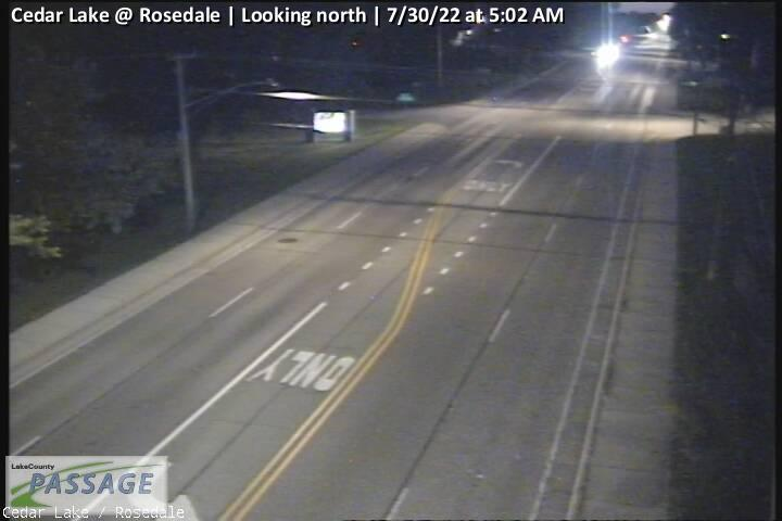 camera snapshot for Cedar Lake at Rosedale