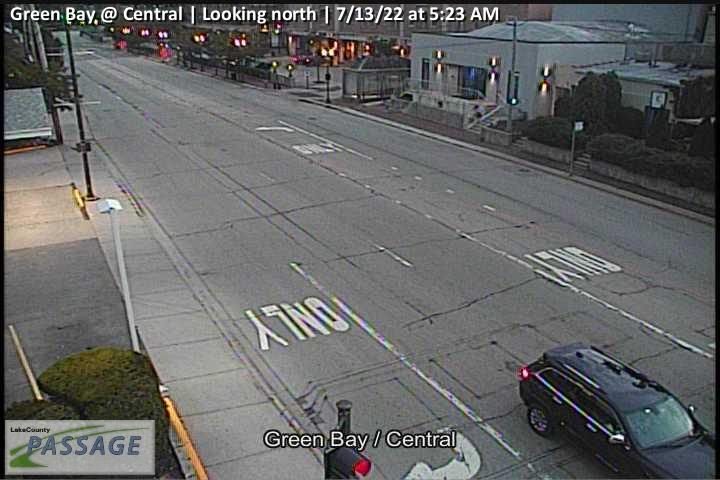 camera snapshot for Green Bay at Central