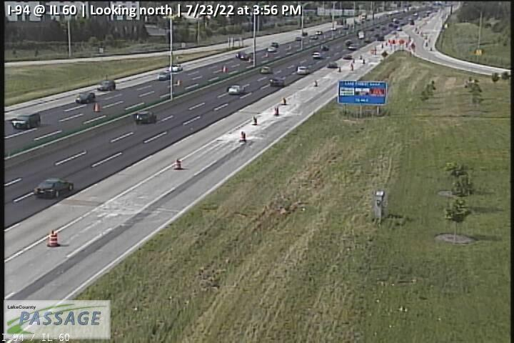 camera snapshot for I-94 at IL 60