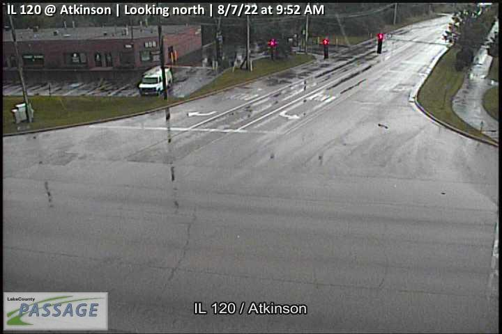 camera snapshot for IL 120 at Atkinson