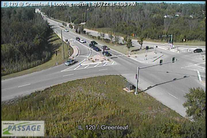 camera snapshot for IL 120 at Greenleaf