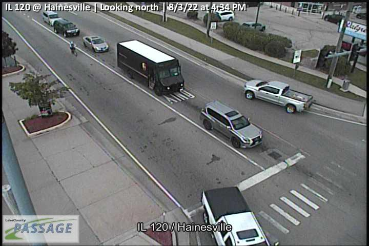 camera snapshot for IL 120 at Hainesville
