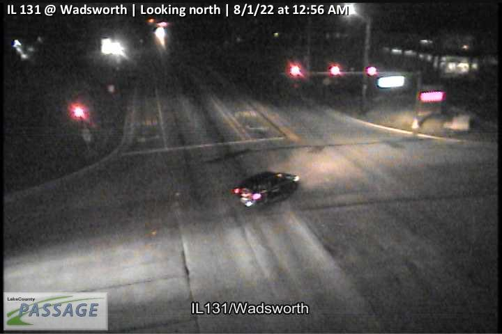 camera snapshot for IL 131 at Wadsworth