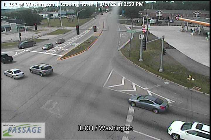 camera snapshot for IL 131 at Washington