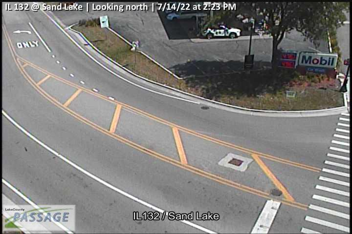 camera snapshot for IL 132 at Sand Lake