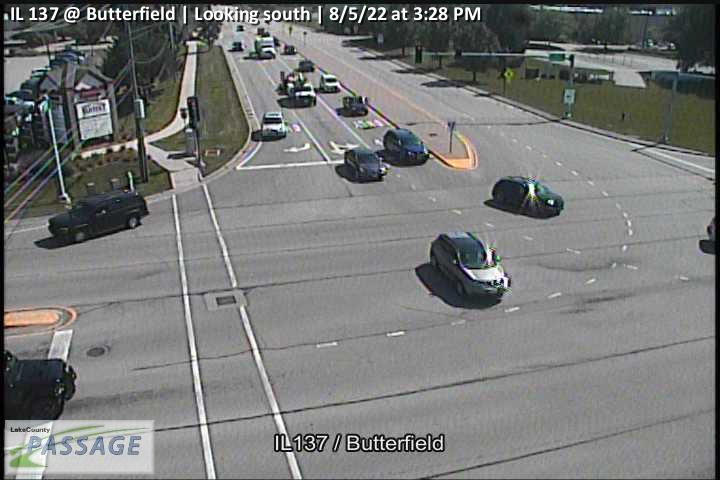 camera snapshot for IL 137 at Butterfield