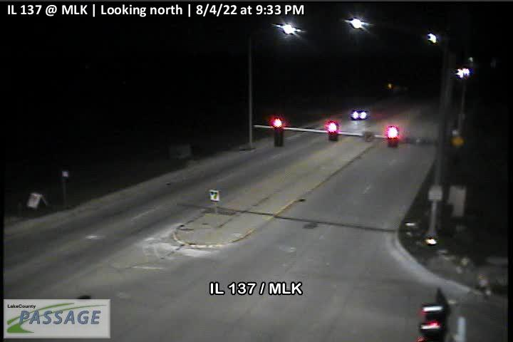 camera snapshot for IL 137 at MLK