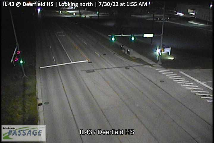 camera snapshot for IL 43 at Deerfield HS