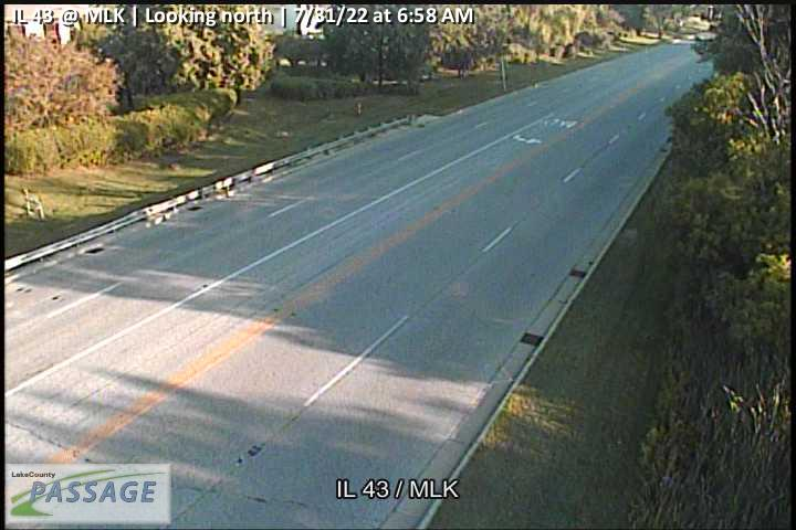 camera snapshot for IL 43 at MLK