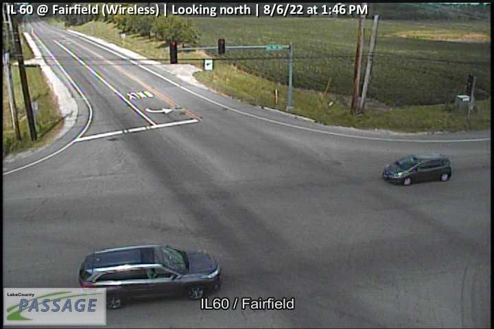 camera snapshot for IL 60 at Fairfield (Wireless)