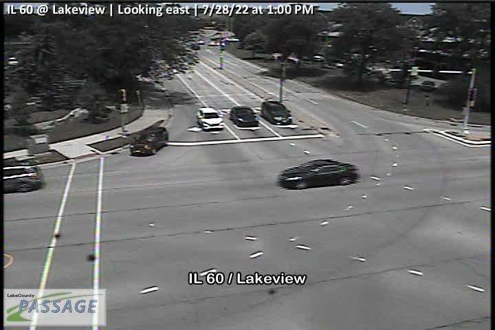 camera snapshot for IL 60 at Lakeview