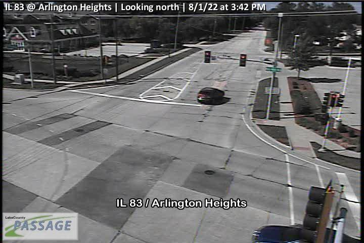 camera snapshot for IL 83 at Arlington Heights