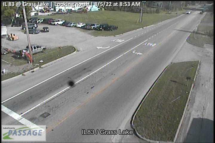camera snapshot for IL 83 at Grass Lake