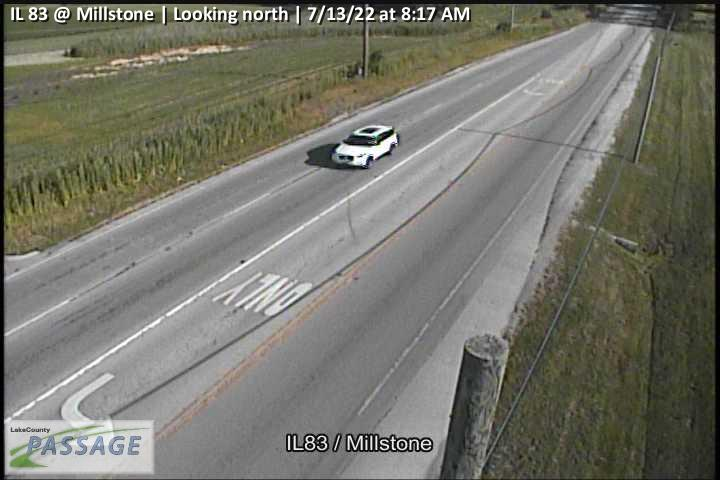 camera snapshot for IL 83 at Millstone