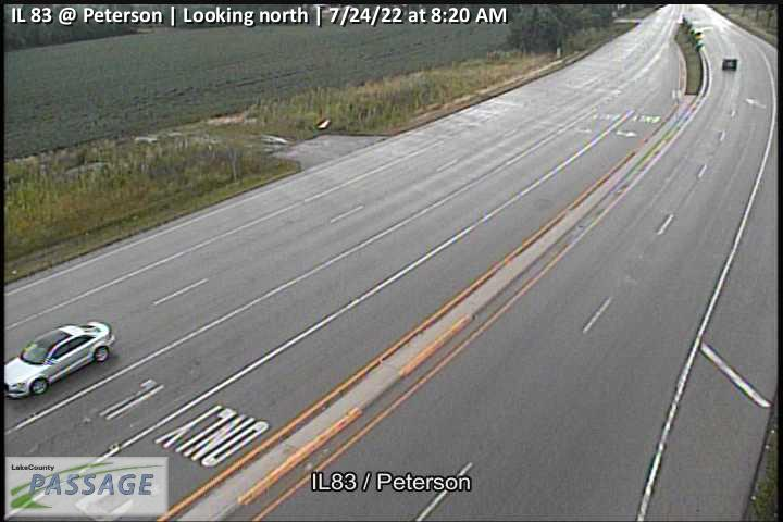 camera snapshot for IL 83 at Peterson