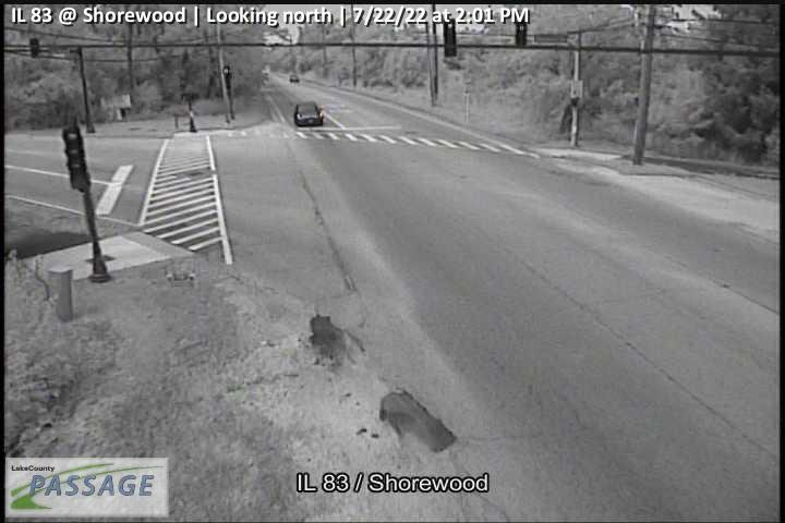 camera snapshot for IL 83 at Shorewood