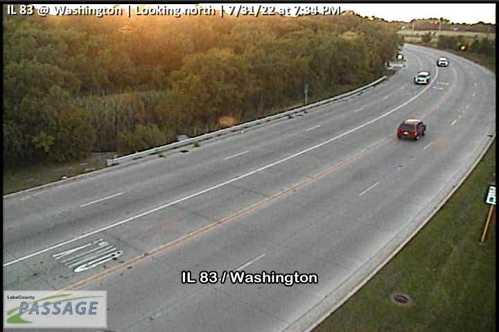 camera snapshot for IL 83 at Washington