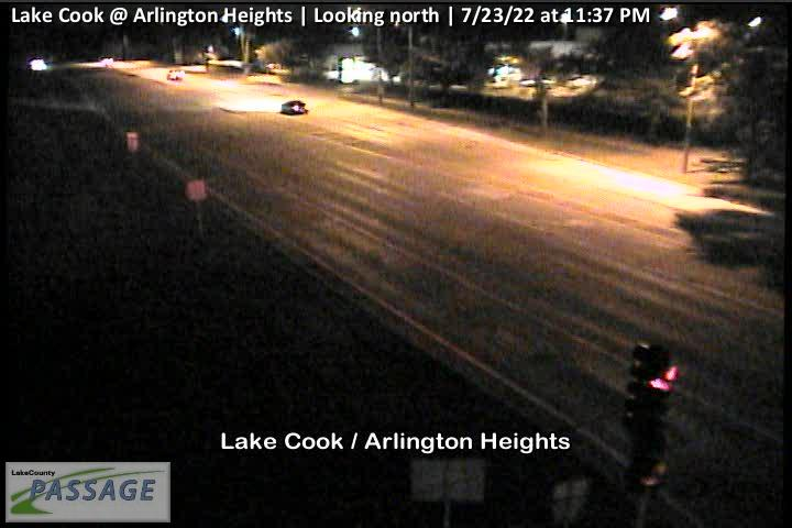 camera snapshot for Lake Cook at Arlington Heights