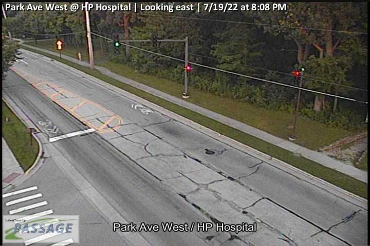camera snapshot for Park Ave West at HP Hospital