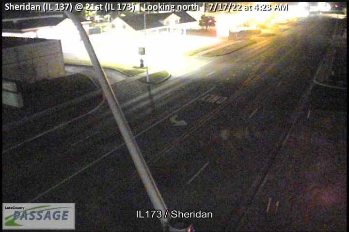 camera snapshot for Sheridan (IL 137) at 21st (IL 173)