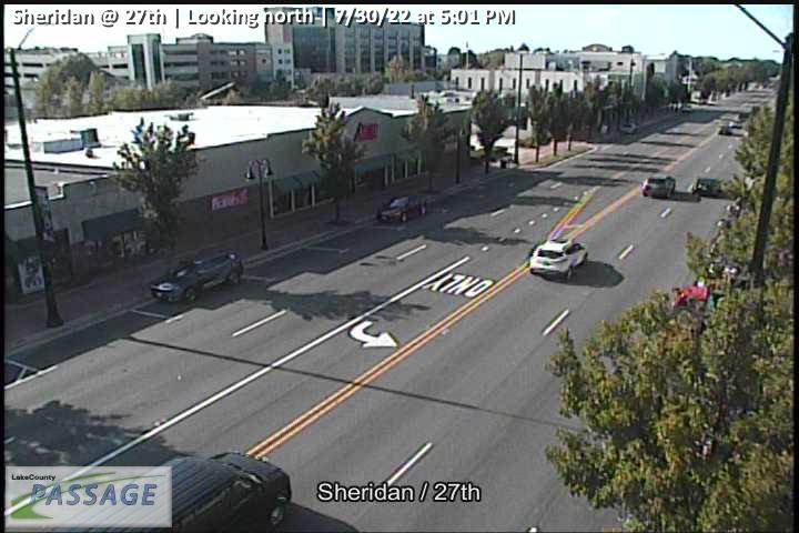 camera snapshot for Sheridan at 27th