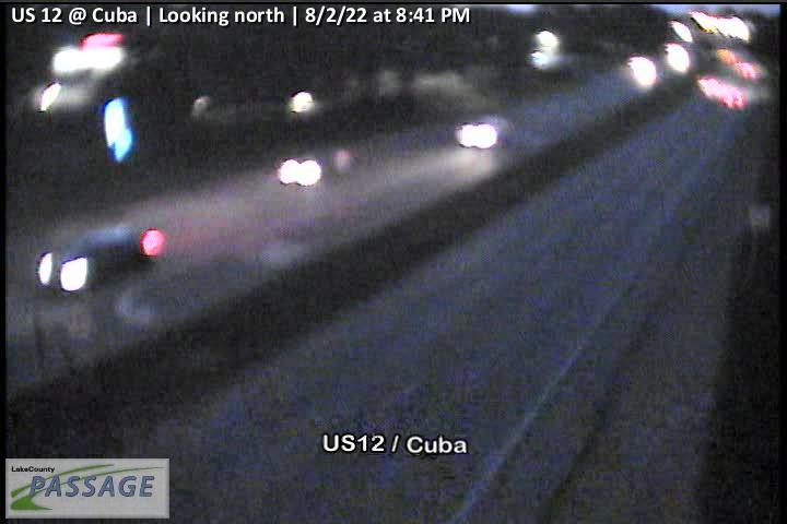 camera snapshot for US 12 at Cuba
