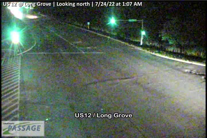 camera snapshot for US 12 at Long Grove