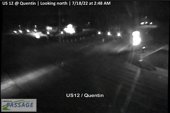 camera snapshot for US 12 at Quentin