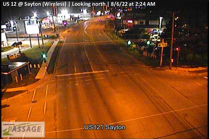 camera snapshot for US 12 at Sayton (Wireless)