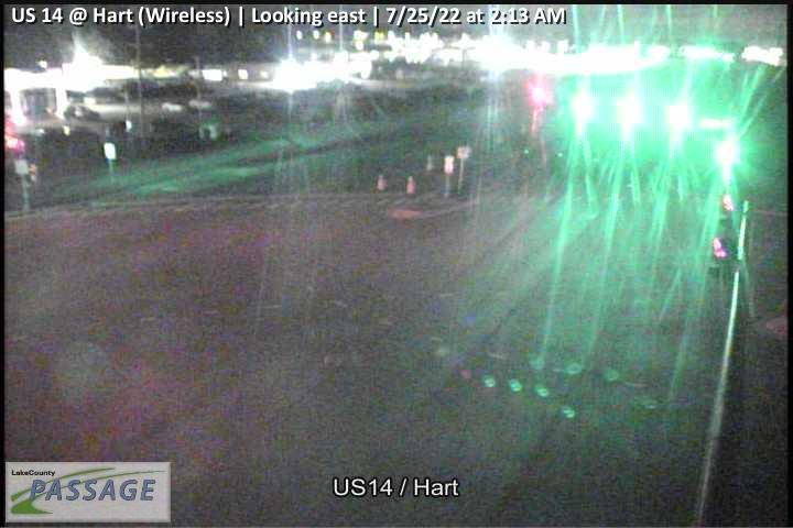 camera snapshot for US 14 at Hart (Wireless)