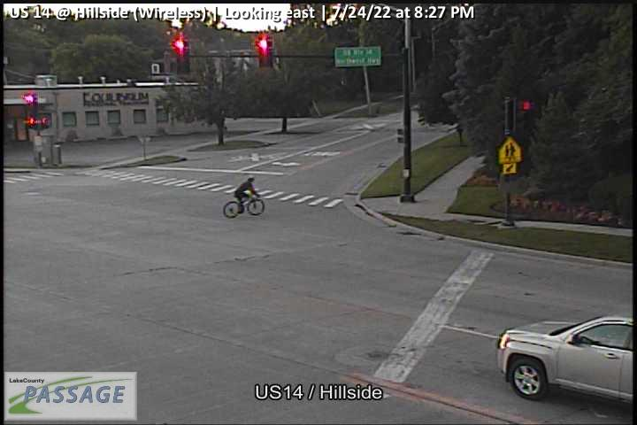 camera snapshot for US 14 at Hillside (Wireless)