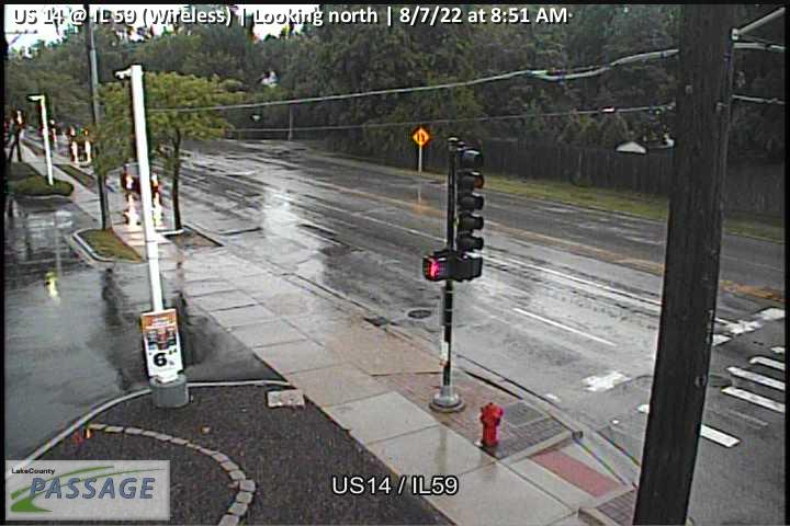 camera snapshot for US 14 at IL 59 (Wireless)