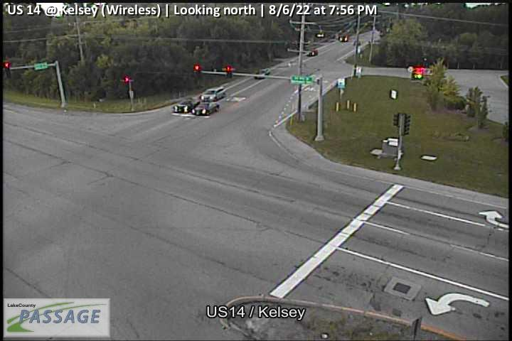 camera snapshot for US 14 at Kelsey (Wireless)