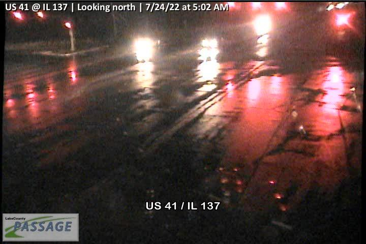 camera snapshot for US 41 at IL 137