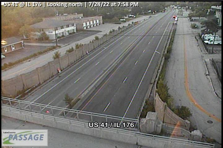 camera snapshot for US 41 at IL 176