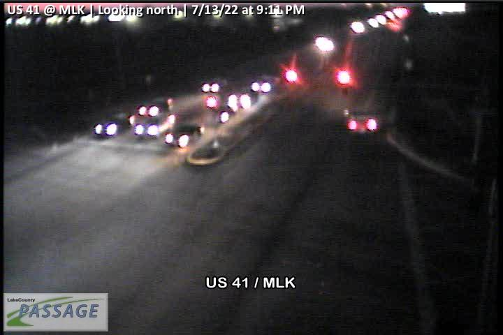 camera snapshot for US 41 at MLK