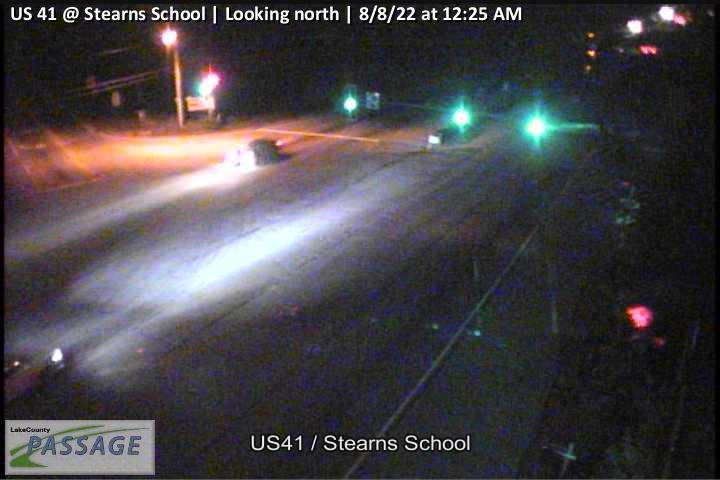 camera snapshot for US 41 at Stearns School