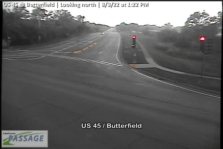 camera snapshot for US 45 at Butterfield