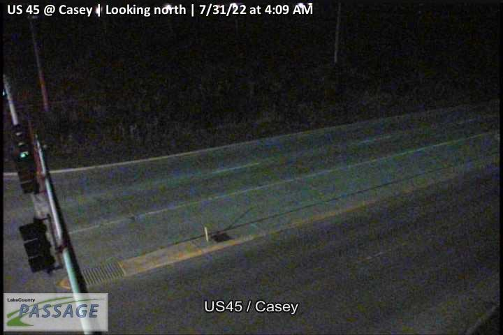 camera snapshot for US 45 at Casey