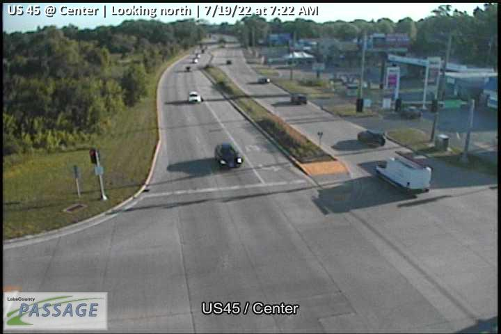 camera snapshot for US 45 at Center