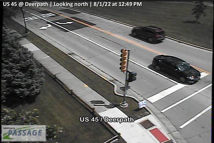 camera snapshot for US 45 at Deerpath