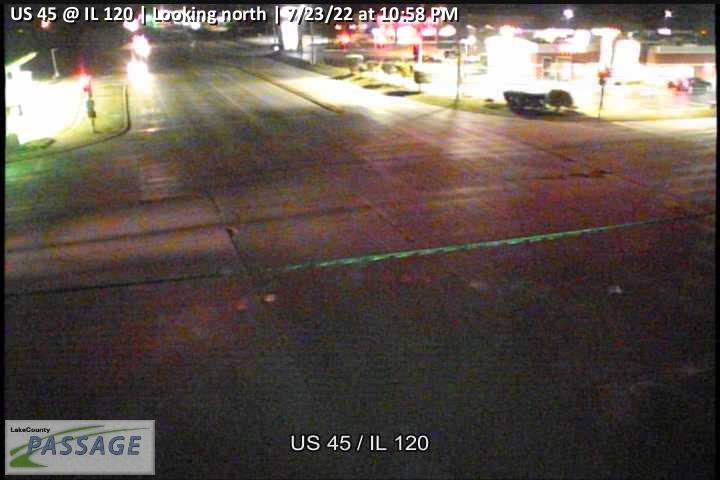 camera snapshot for US 45 at IL 120