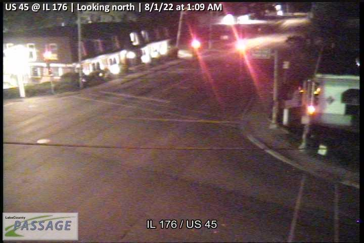 camera snapshot for US 45 at IL 176