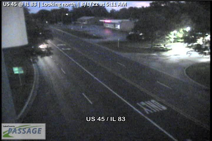 camera snapshot for US 45 at IL 83