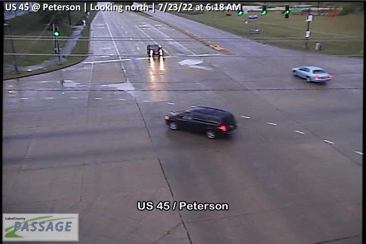 camera snapshot for US 45 at Peterson