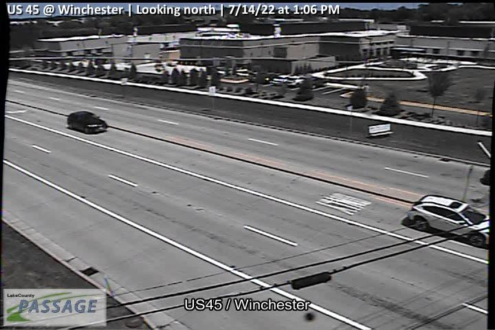 camera snapshot for US 45 at Winchester